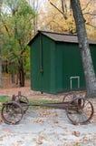 Two Horse Drawn Wagon Stock Image