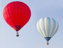 Free Two Hot Air Balloons Royalty Free Stock Photography - 26039417