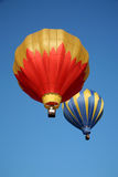 Two Hot Air Balloons Royalty Free Stock Images