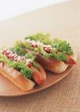 Two Hot dog Stock Image
