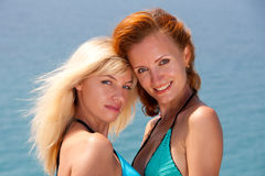 Two hot women Stock Photography