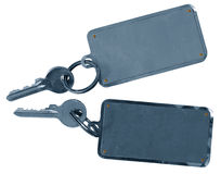 Two hotels room keys Stock Photography