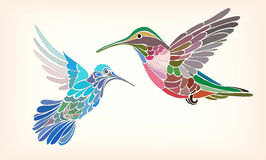 Valda Fitzpatrick 'Two Hummingbirds' | Reproduction Artwork ...