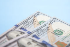 Two hundred dollar notes Royalty Free Stock Photos