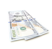 Two hundred dollar notes Royalty Free Stock Image