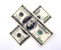 Two hundred dollars Stock Photography