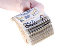 Two hundred Polish zloty Royalty Free Stock Image