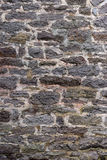 Two Hundred Year Old Stone Wall Vertical Royalty Free Stock Image