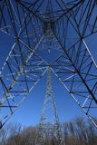 Two Hydro Towers Royalty Free Stock Image