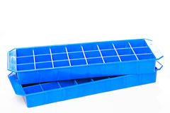 Two Ice Cube Trays royalty free stock photos
