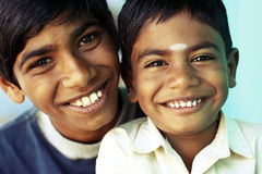 Two Indian boys Royalty Free Stock Photography