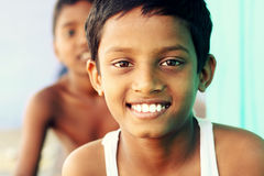 Two Indian boys Royalty Free Stock Images