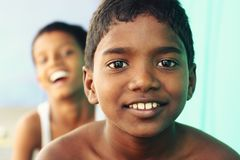 Two Indian boys Royalty Free Stock Photo