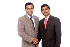 Two Indian business people Stock Image