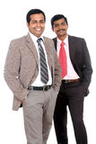 Two Indian business people Stock Images