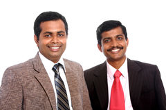 Two Indian business people Royalty Free Stock Photos
