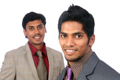 Two Indian business people Stock Photography