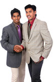 Two Indian business people Stock Photos