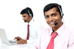 Two Indian business people Royalty Free Stock Photography