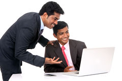 Two Indian business people Royalty Free Stock Image