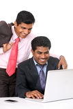 Two Indian business people Royalty Free Stock Photo