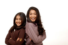 Two indian friends Royalty Free Stock Image
