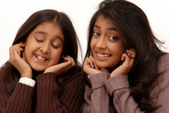 Two indian girls Stock Image