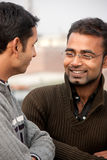 Two indian man on discussion Royalty Free Stock Photo