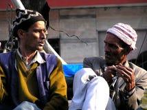 Two Indian men royalty free stock photos
