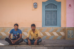 Two Indian men Stock Images