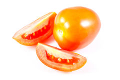 Two Indian Tomatoes Stock Photography