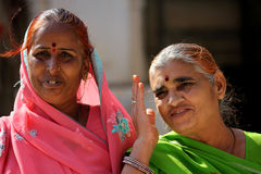 Two Indian women Royalty Free Stock Photography
