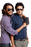 Two Indian young man people Royalty Free Stock Photography