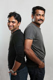Two Indian young people Royalty Free Stock Photos