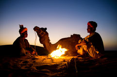 Two Indigenous Indian Desert Culture Concept Stock Images