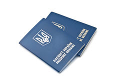 Two International Ukrainian passports Stock Photography