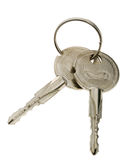 Two iron key from lock Stock Photo