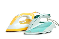 Two irons stock photo