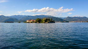 Two Island Maggiore lake Royalty Free Stock Photography