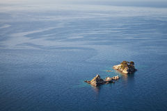 Two islands Katic and Sveta Nedjelja Royalty Free Stock Photo
