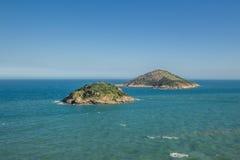 Two Islands in Rio de Janeiro. Rj, Brazil stock images