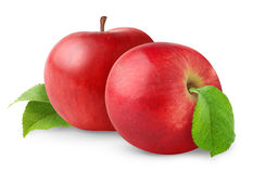 Free Two Isolated Apples Royalty Free Stock Photos - 16500998