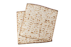 Two Isolated Matzot Royalty Free Stock Images