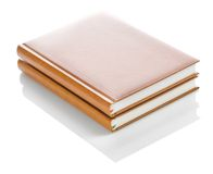 Two isolated notepads Royalty Free Stock Image