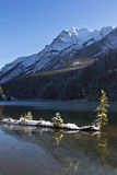 Two Jack Lake at Banff Stock Photos
