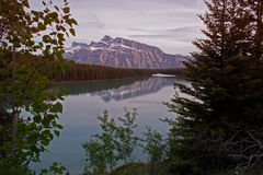 Two jack lake - Banff Stock Photos