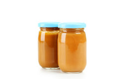 Two jars Stock Images