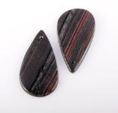 Two Jaspilite gemstone Stock Image