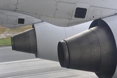 Two Jet Engines royalty free stock photos