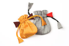 Two jewelry pouches Royalty Free Stock Photo